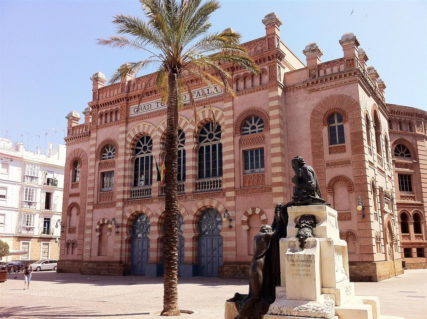 Teatro Falla en Cadiz