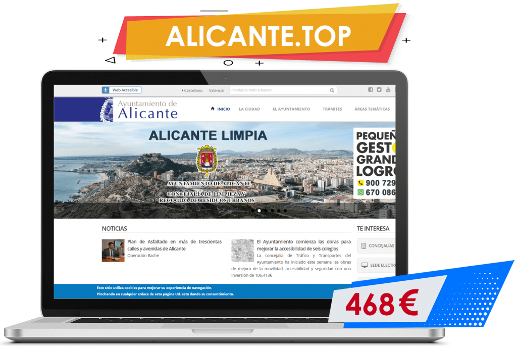 Comprar dominio alicante.top