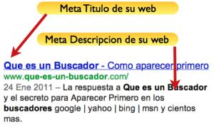 Meta-Titulo y Meta-Descripcion Ejemplo
