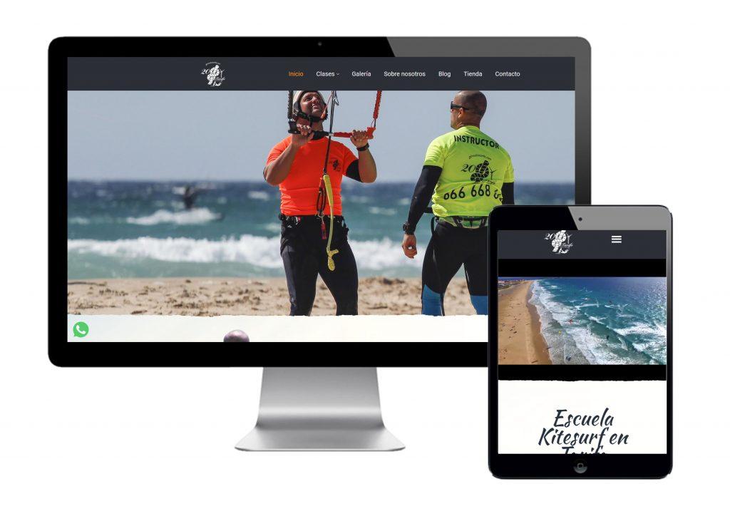 Escuela KiteSurf 20 Nudos Tarifa