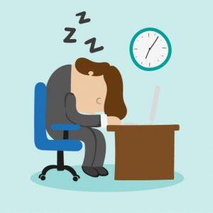 Zona confort en puesto de trabajo